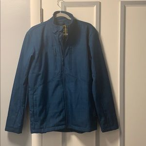Under Armour blue weather jacket